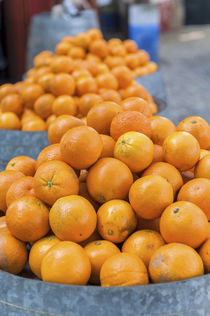 Europe, Portugal, Obidos, oranges for sale at outdoor market by Danita Delimont