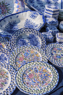 Europe, Portugal, Oporto, Portuguese ceramics for sale by Danita Delimont