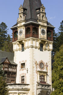 Schloss Peles in Sinaia, Rumänien by Danita Delimont