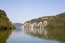 Iron Gate, the gorge of river danube through the carpathian mts. von Danita Delimont