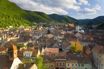 View over Brasov, Transylvania, Romania by Danita Delimont