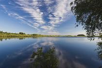 Russia, Novgorod Oblast, Veliky Novgorod, Lake Myachino by Danita Delimont