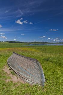 Russia, Pskovskaya Oblast, Pushkinskie Gory, landscape at Mi... by Danita Delimont