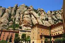 Montserrat monastery, Catalonia, Spain by Danita Delimont