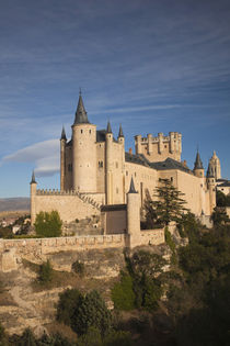 Spain, Castilla y Leon Region, Segovia Province, Segovia, The Alcazar by Danita Delimont