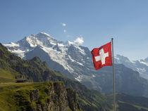 Switzerland, Bern Canton, Mannlichen, the Jungfrau von Danita Delimont