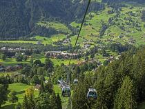Switzerland, Bern Canton, Grindelwald, Grindelwaild-First lift von Danita Delimont