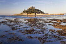 St Michael's Mount at dawn, Marazion, Cornwall, England by Danita Delimont