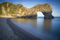 Evening at Durdle Door along the Jurassic Coast, Dorset, England von Danita Delimont