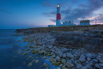 Twilight at the Portland Bill Lighthouse, Dorset, England by Danita Delimont
