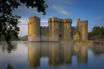 Dawn at Bodiam Castle, Bodiam, Robertsbridge, East Sussex, England by Danita Delimont