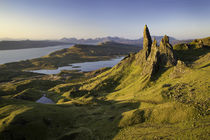 Dawn at the Old Man of Storr, Trotternish Peninsula, Isle of... by Danita Delimont
