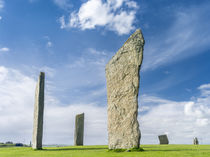 Stones of Stenness, Orkney Islands, Scotland von Danita Delimont