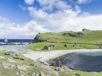 Landscape in North Roe, Shetland, Scotland by Danita Delimont