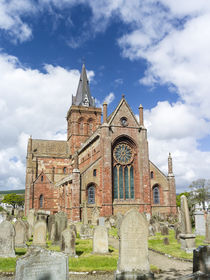 Kirkwall, capital of the Orkney Islands, Scotland by Danita Delimont