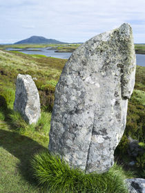 Pobull Fhinn Standing Stones on North Uist by Danita Delimont