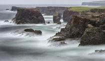 Landscape at Eshaness, Shetland, Scotland von Danita Delimont