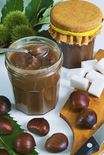 Chestnut jam in jar by Danita Delimont