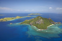 Monu Island, Mamanuca Islands, Fiji, South Pacific, aerial by Danita Delimont