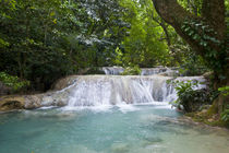 Beautiful Mele-Maat cascades in Port Vila, Island of Efate, ... von Danita Delimont