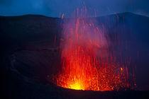 Volcano eruptions at Yasur Volcano, Island of Tanna, Vanuatu... by Danita Delimont