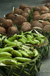 Local market in Pago Pago, Tutuila Island, American Samoa. von Danita Delimont