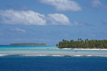 Palmerston Island, a classic atoll, was discovered by Captai... by Danita Delimont