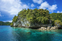 Rock arch in the Rock Islands, Palau, Central Pacific by Danita Delimont