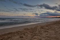 Salou Strand Mittelmeer, Beach Mediterranean Sea by Georg Hirstein
