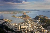 View over Sugarloaf mountain in Guanabara Bay, Rio de Janeiro by Danita Delimont