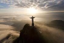 Christ Redeemer statue, Corcovado, Rio de Janeiro, Brazil by Danita Delimont