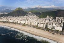 Copacabana beach, Copacabana, Rio de Janeiro, Brazil by Danita Delimont