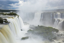 Iguacu Falls, Cataratta Foz do Iguacu, Parana, Iguazu N by Danita Delimont