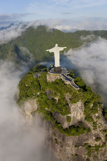 Christ Redeemer statue, Corcovado, Rio de Janeiro, Brazil von Danita Delimont