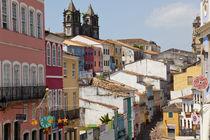 Pelourinho, Salvador, Bahia, Brazil by Danita Delimont