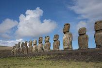 Chile, Easter Island, Hanga Nui von Danita Delimont