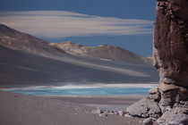 Salar Tata surrounded by Pakana Rock Formations von Danita Delimont
