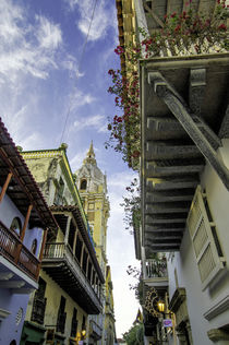 Wonderful Spanish colonial architecture is a confection in t... von Danita Delimont
