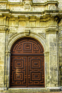 Main entry of the Church of San Pedro Claver in the Plaza de... von Danita Delimont