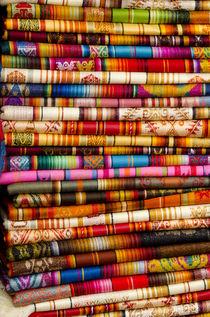Ecuador, Quito area, Otavalo Handicraft Market von Danita Delimont