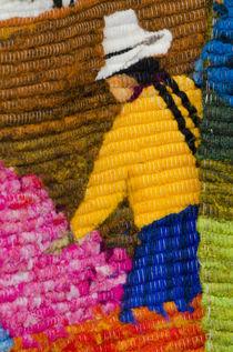Ecuador, Quito area, Otavalo Handicraft Market by Danita Delimont
