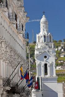 El Sagrario Chapel, Quito, Ecuador by Danita Delimont