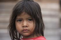 Amerindian girl Parabara by Danita Delimont
