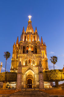 The Parish of San Miguel in San Miguel de Allende, Mexico. by Danita Delimont