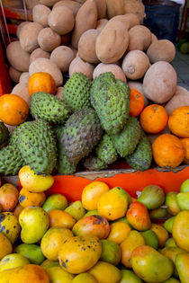 Fruit and vegetable market, Vallarta Food Tours, El Pitillal... von Danita Delimont