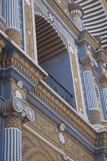 North America, Mexico, Oaxaca Province, Ocotlan, restored Te... by Danita Delimont