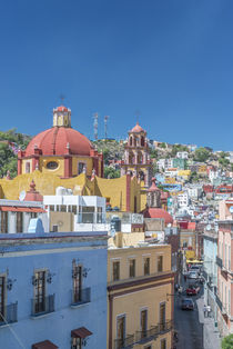 Rooftop View of Guanajuato by Danita Delimont