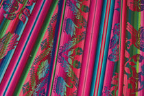 Colorful cloth, Huaraz, Cordillera Blanca, Ancash, Peru. by Danita Delimont