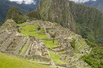 Machu Picchu, Aguas Calientes, Peru. by Danita Delimont