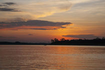 Sunset on the Ucayali River by Danita Delimont